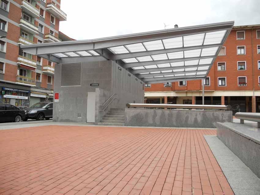 Plaza Juan XXIII en Arrigorriaga Escenarioi
