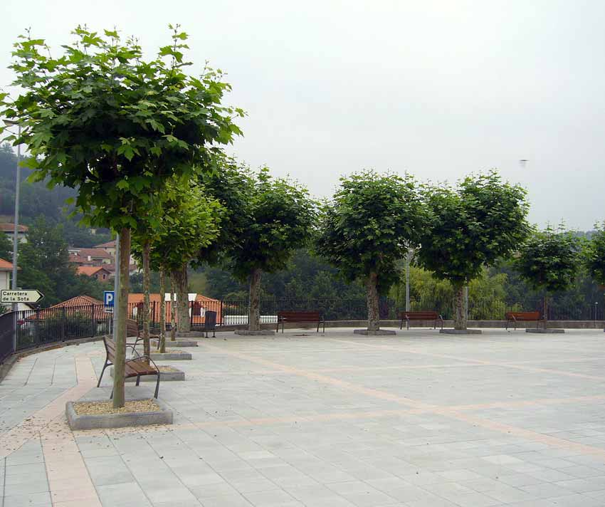 Plaza Mercadillo Sopuerta