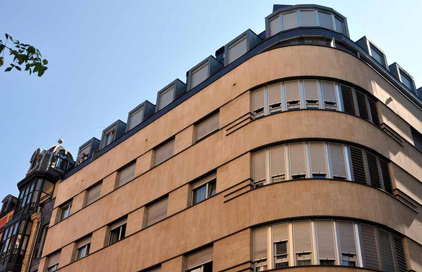 34 viviendas en calle General Concha 21Bilbao