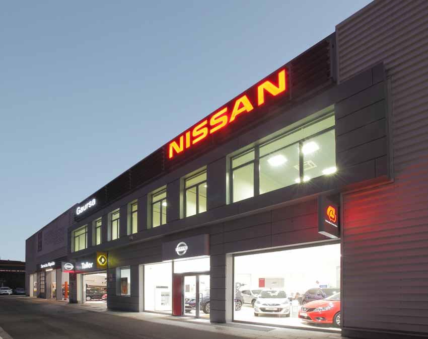 Concesionario Dacia Nissan Renault en Irún