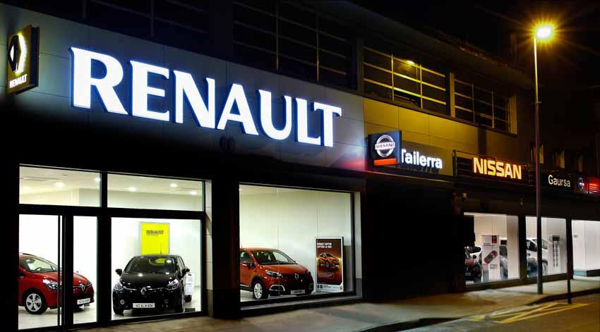 Concesionario Nissan Renault en Eibar