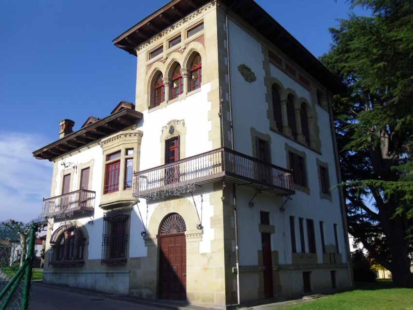 Palacio Zeletabe en Abadiño