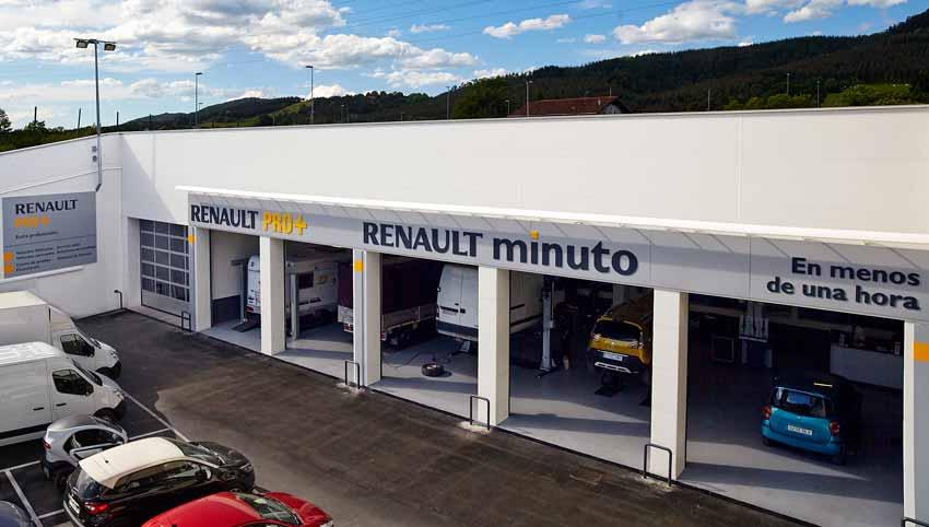 Taller Renault en Iurreta