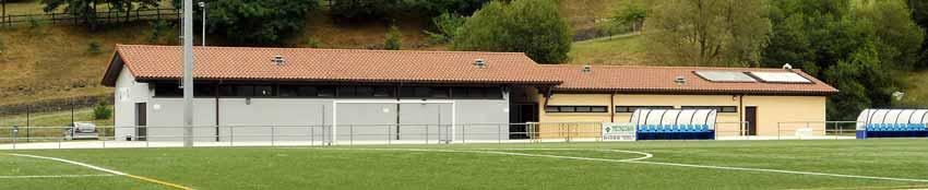Vestuarios Campo de fútbol Montefuerte en Arrigorriaga