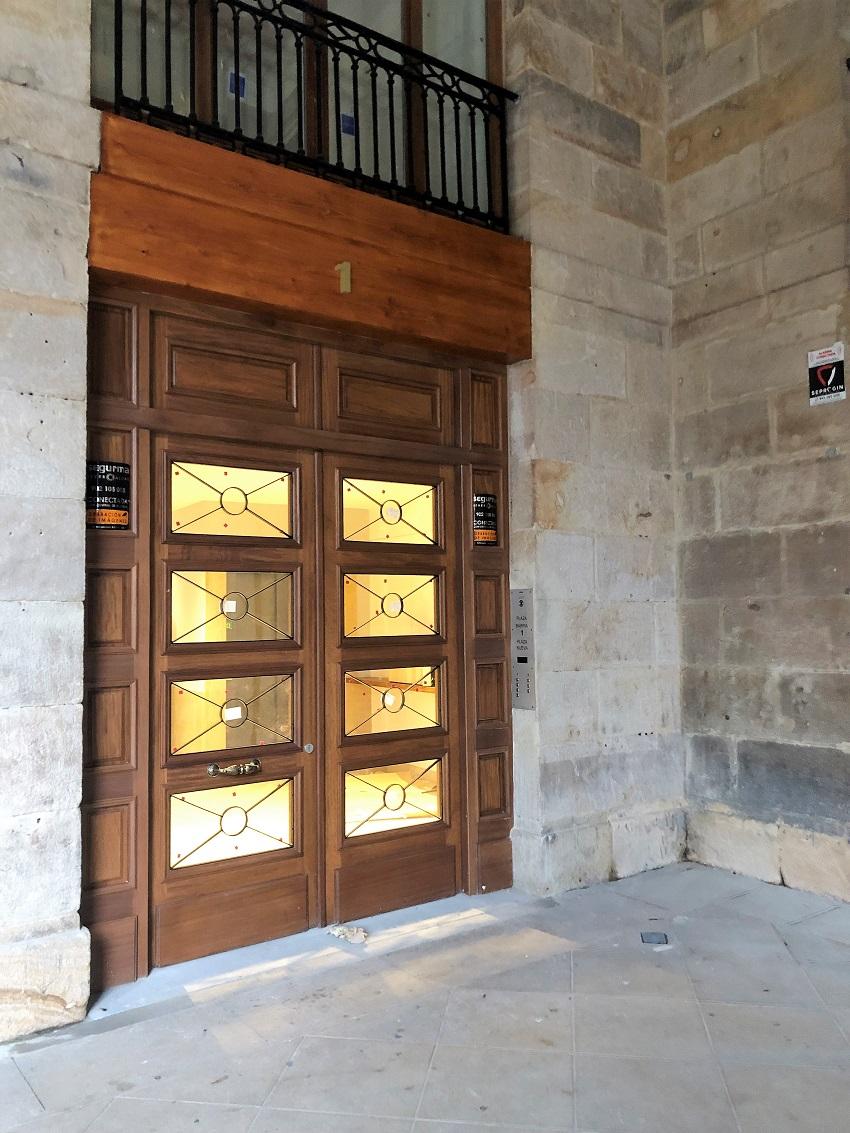 Edificio en Plaza Nueva-Bilbao (Portal I)