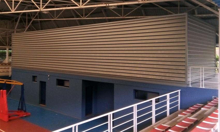 Vestuarios pistas exteriores en Polideportivo de Arrigorriaga